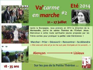 Va'carme Marche Normandie 2014
