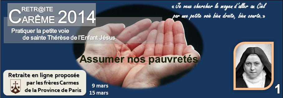 Carême 2014 Semaine 1