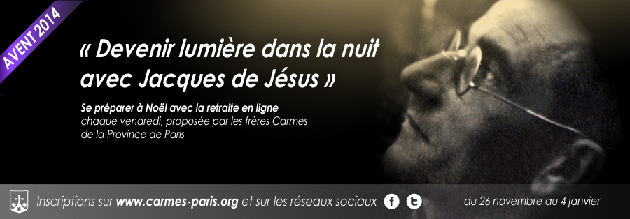 Retraite en ligne de l'avent 2014 - Père Jacques