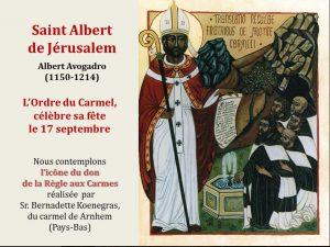 9. St Albert de Jérusalem