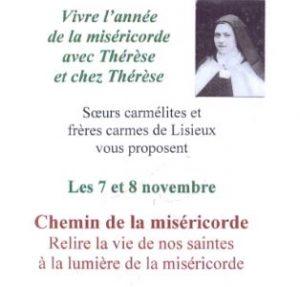 WE Thérésien Lisieux 7-8 novembre 2015