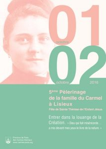 Pèlerinage du Carmel Lisieux 2016