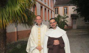 Fr. Guillaume et Fr. Eric-Marie