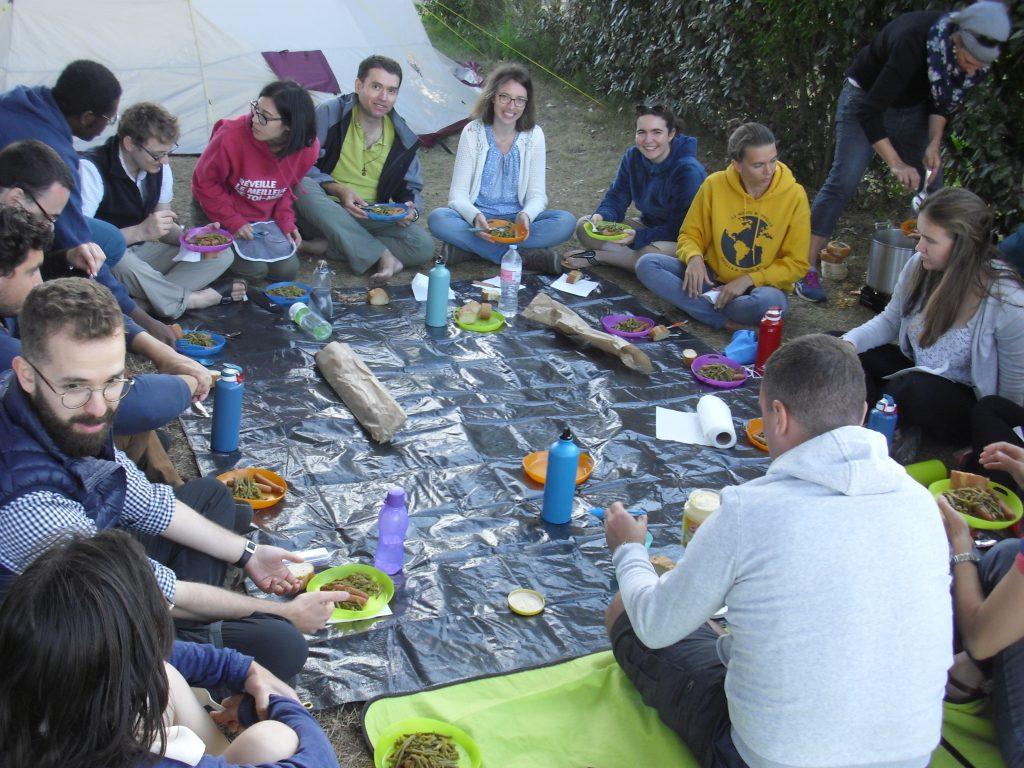 Pique-nique en camping 2